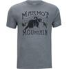 Marmot Sunrise Bluzka z krótkim rękawem Mężczyźni szary